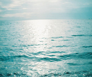 beautiful, ocean, and blue image