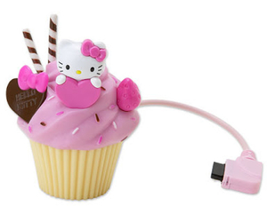 cute, hello kitty, and cupcake image