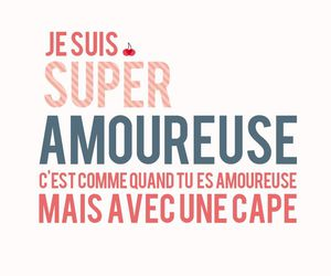 amour, french, and quotes image