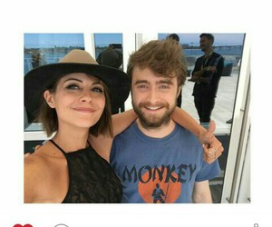 daniel radcliffe, harry potter, and willa holand image