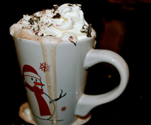 chocolate, drink, and winter image