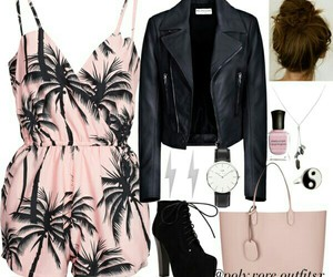 fashion, jumpsuit, and cute image