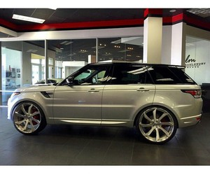 cars, evoque, and range rover image