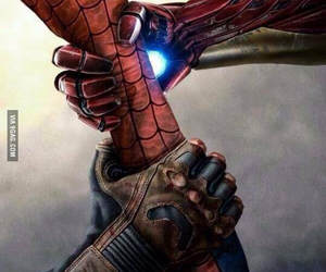 Marvel, iron man, and captain america image