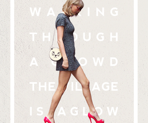 Taylor Swift and welcome to new york image