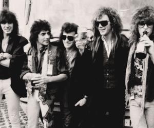 bon jovi, 80s, and glam metal image