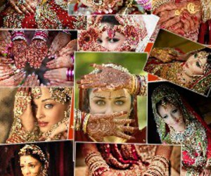 bollywood, henna, and indian image
