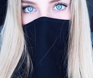 eyes, blue, and blonde image