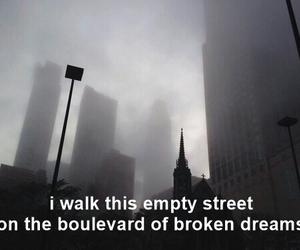 background, boulevard, and broken dreams image