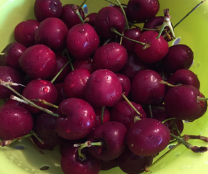 vegan, preworkout, and cherries image