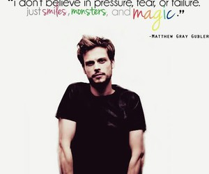 matthew gray gubler, criminal minds, and quote image