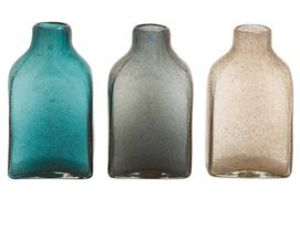 glass bottles and home accessories image