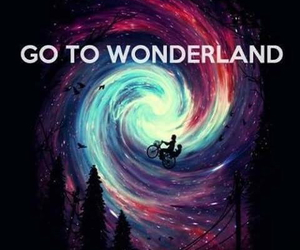 wonderland, Dream, and go image