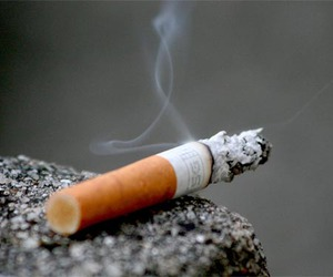 cigarette and smoke image