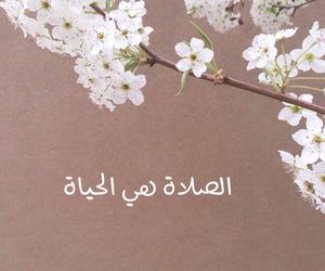 صلاة and الحياة image