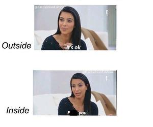 bae, funny, and kim kardashian image