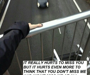 quote, grunge, and hurt image