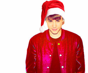 justin bieber and christmas image