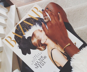fashion, bazaar, and magazine image