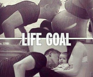 baby, love, and goals image