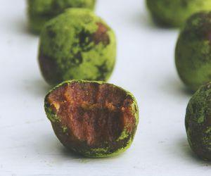 caramel, delicious, and Matcha image