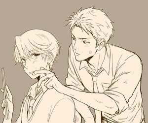 anime, couple, and kashima yuu image