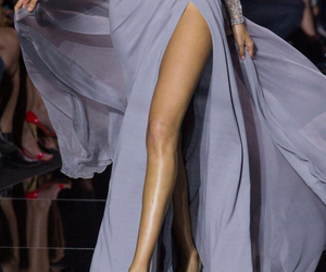 dress, fashion, and runway image