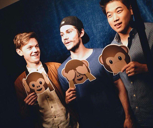 ki hong lee, the maze runner, and dylan o'brien image