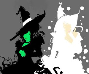 wicked, Wicked Witch of the West, and glinda image
