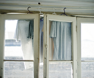 vintage, window, and clothes image