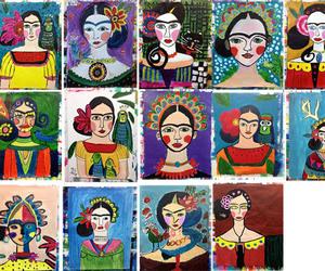 art, arte, and flores image