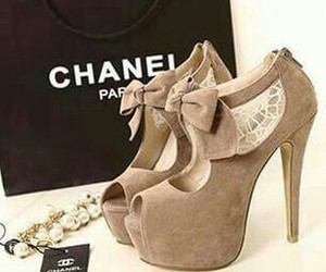 chanel, shoes, and heels image
