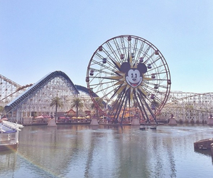 beautiful, disneyland, and ferris wheel image