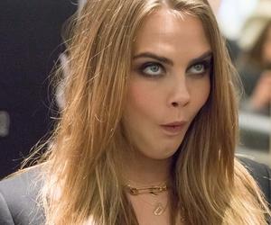 eyebrows, funny, and girl image