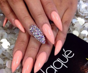 nails, nail art, and laque image