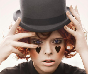 girl, Coco Rocha, and hat image