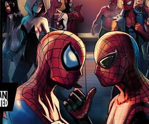 homem aranha, silk, and Marvel image