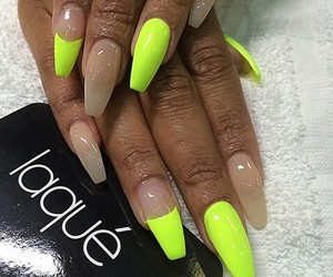 nails, neon, and laque image