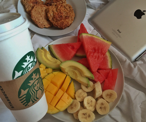 fruit and starbucks image