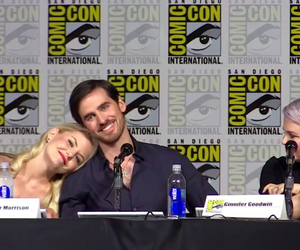 comic con, OMG, and once upon a time image