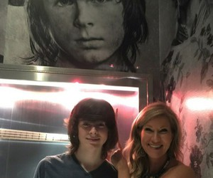San Diego, chandler riggs, and carl grimes image