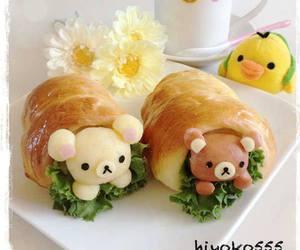 breakfast, food, and kuma image