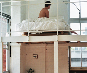 boy, bed, and home image