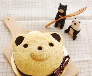 bear, FRUiTS, and cute image