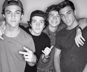 jack dail, boys, and aaron carpenter image