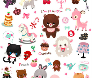 cute, kawaii, and bear image