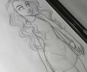 drawing, itslopez, and art image
