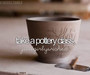 before i die, class, and pottery image