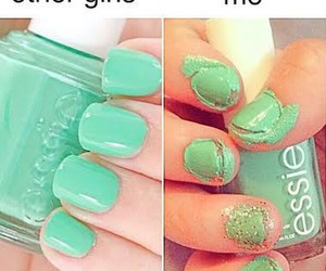 funny and nails image
