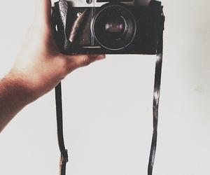 black, camera, and photo image